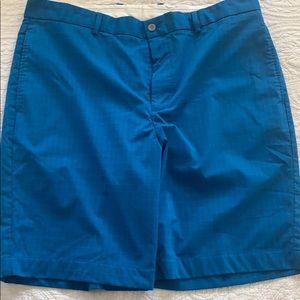 Greg Norman blue shorts W38